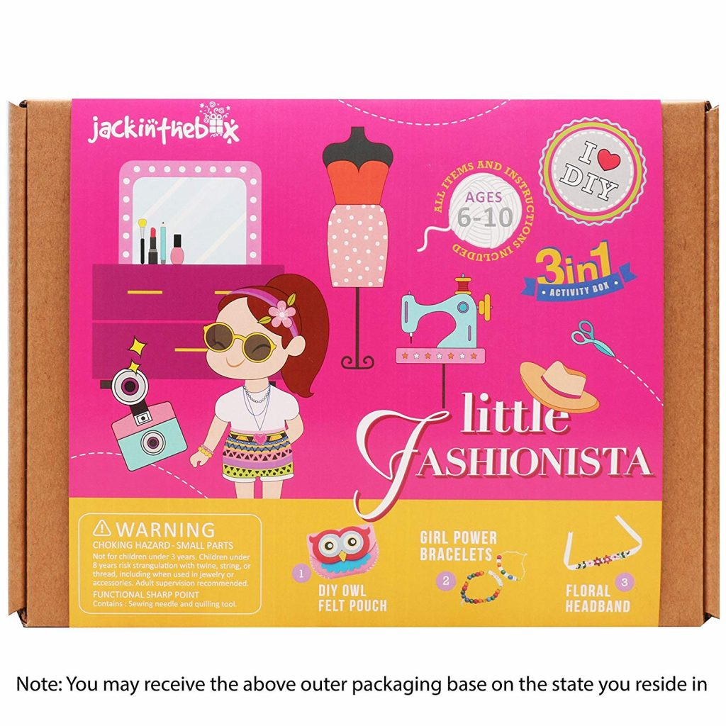 Little Fashionista Themed 3 Crafts-in-1