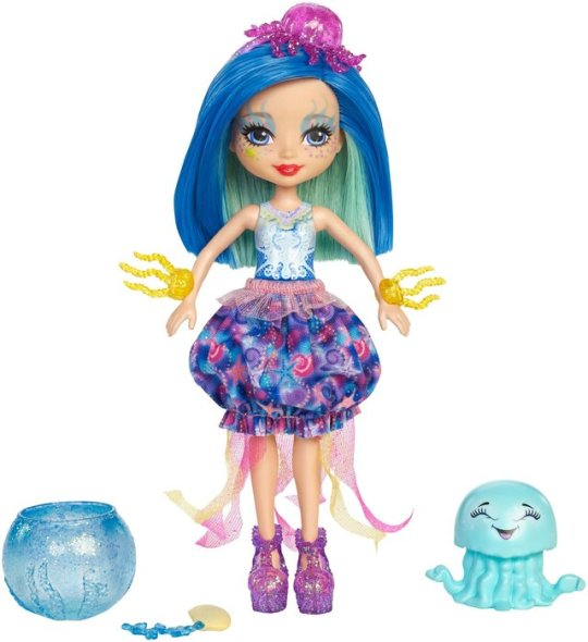 Jessa Jellyfish Doll & Marisa Water Animal Figure