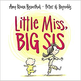 Little Miss, Big Sis Hardcover- Big Sister Gift Ideas
