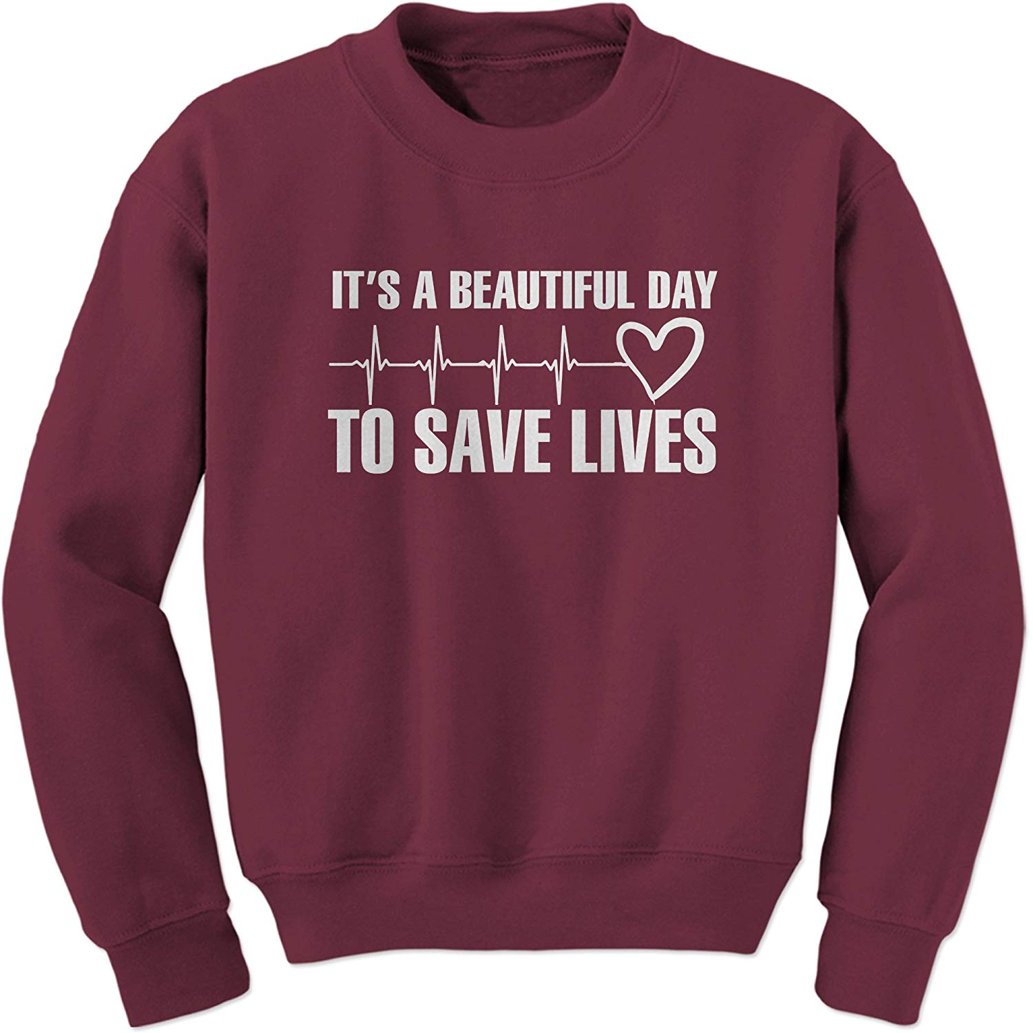 Day to Save Lives Crewneck Sweatshirt