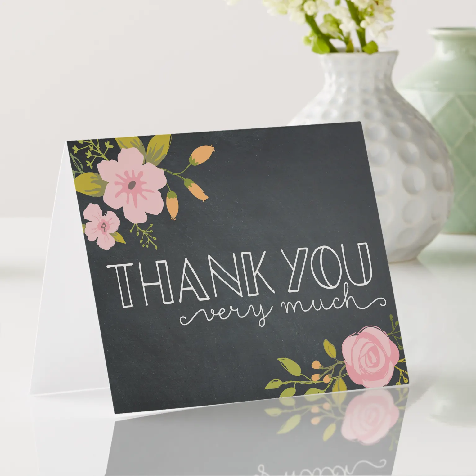 A thank you card - gifts for mentor