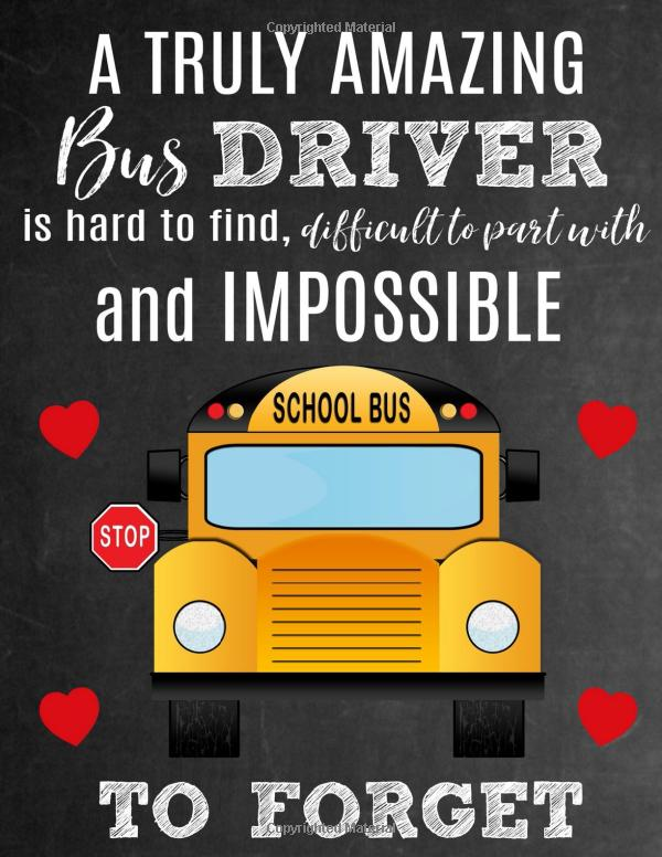 Notebook as a Gift for bus driver