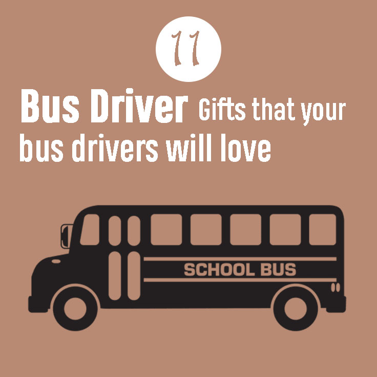 gifts for bus driver