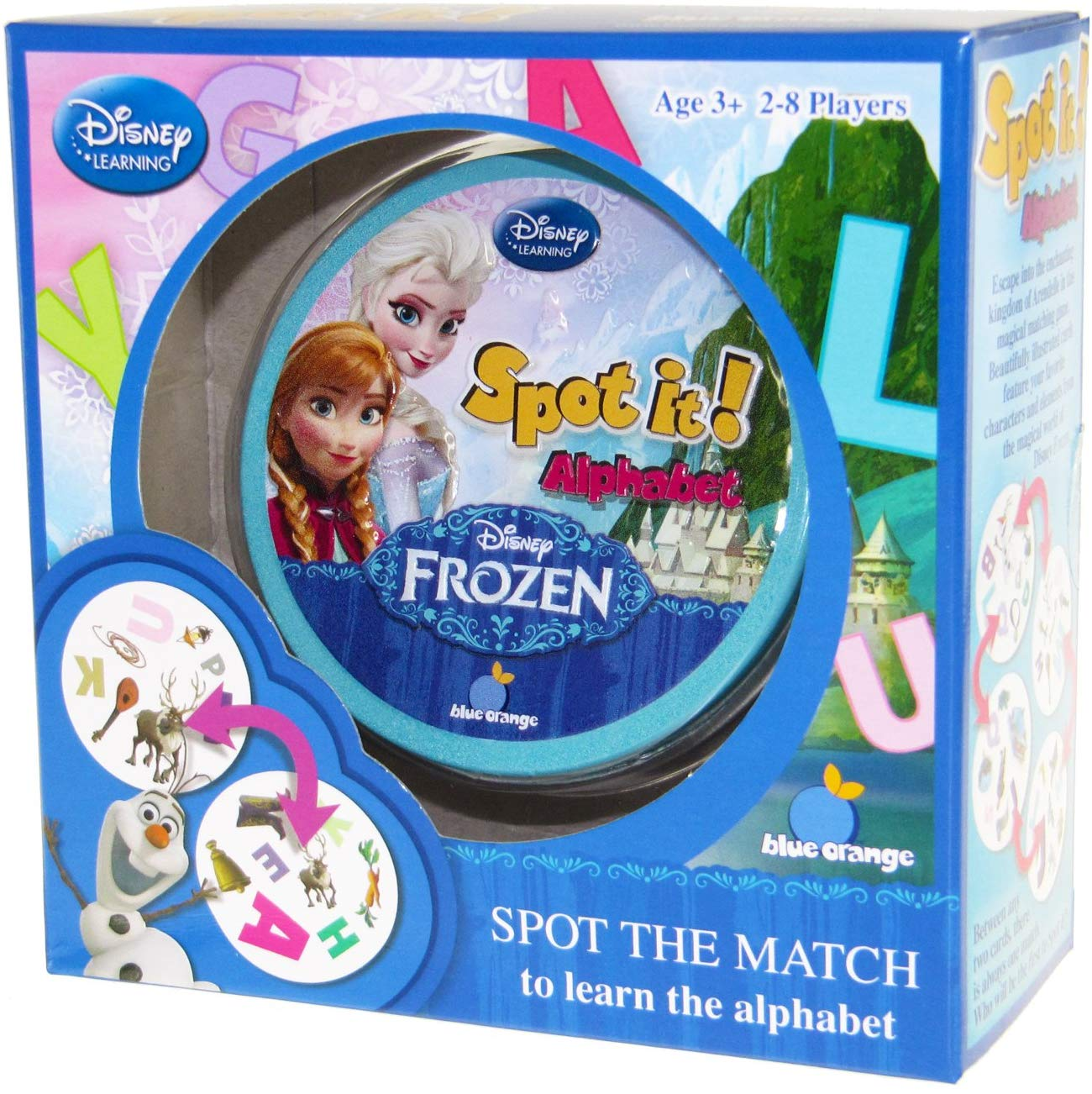 Disney Frozen - Alphabet - frozen gift ideas