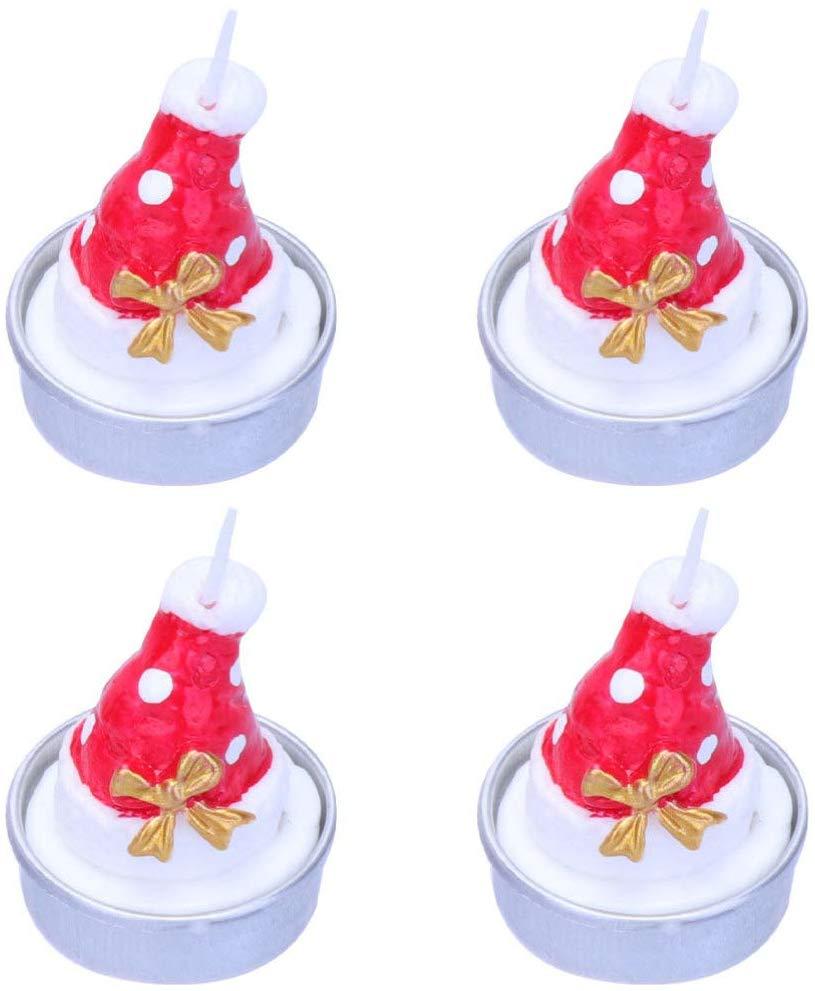 Christmas Candles Creative Strawberry Shape Wax