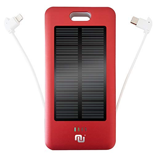 Portable Battery Charger 10000mAh Mobile Power Bank Solar Charger