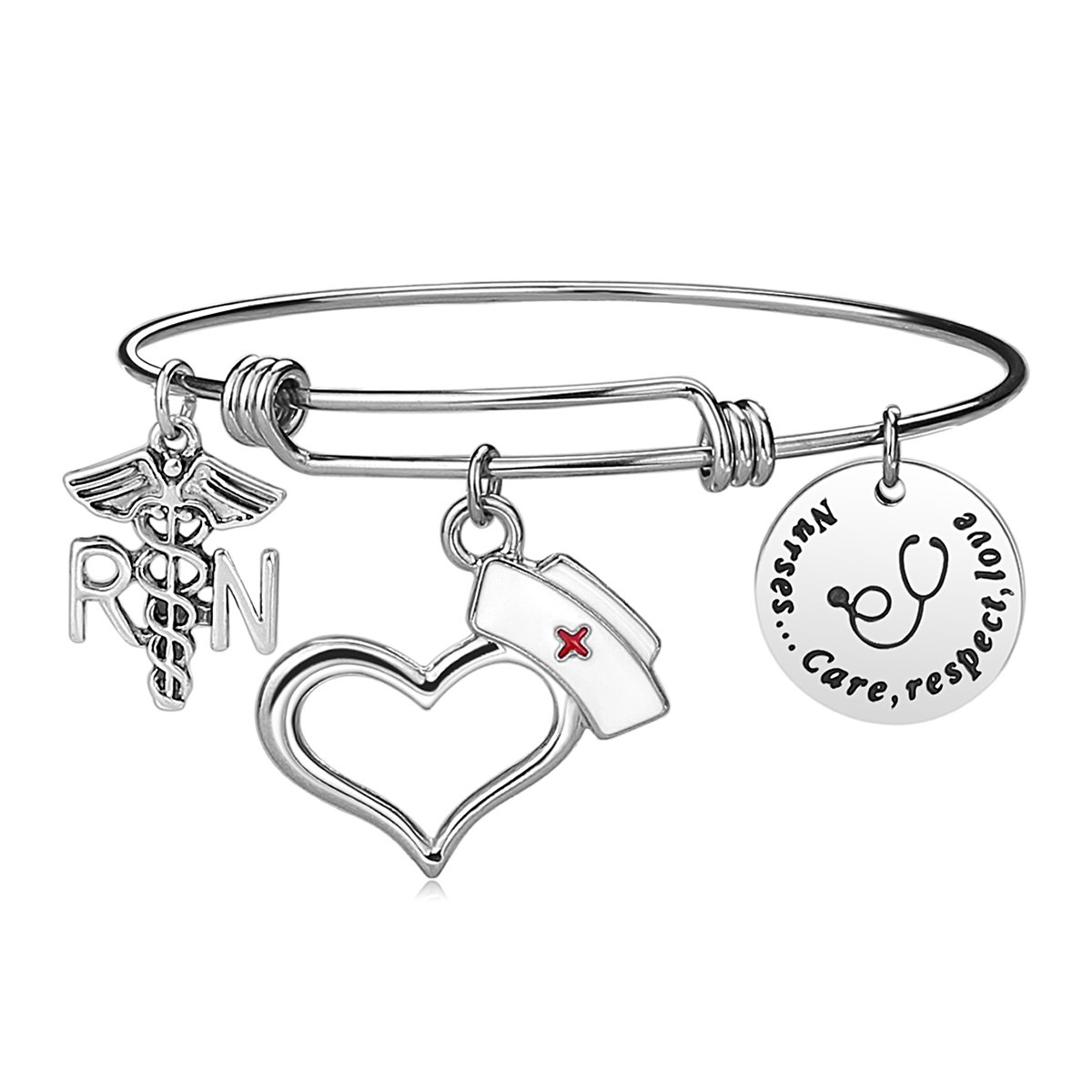 Nurse Bangle Bracelet Gifts
