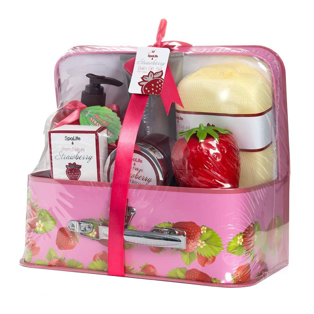 Bath and Body Luxury Spa Gift Set Basket