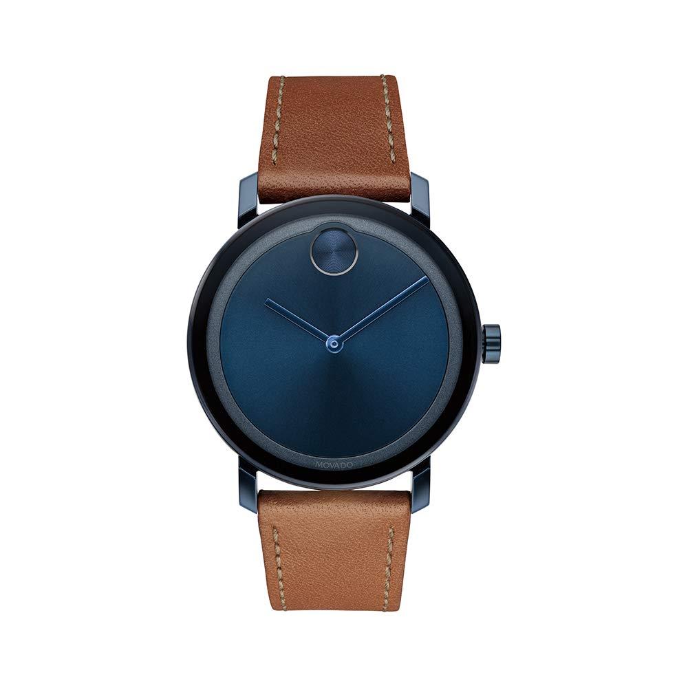 Movado Men's BOLD Evolution Blue PVD Watch