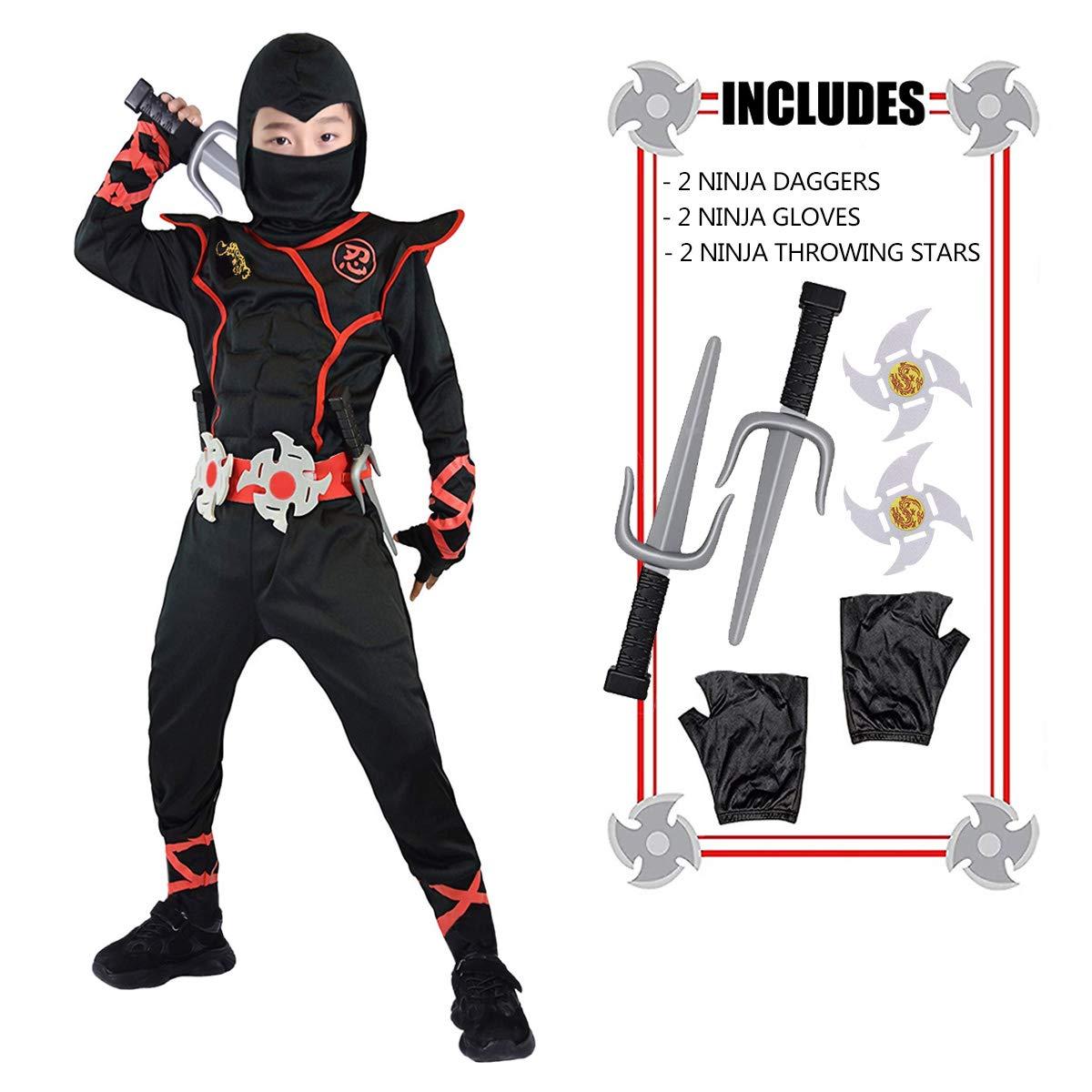 Halloween Ninja Costumes for Boys Girls - Ninja Gift Ideas