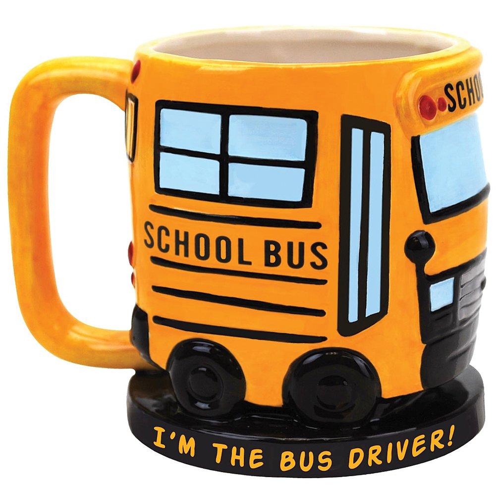 Bus Themed Mug - Bus driver gift ideas