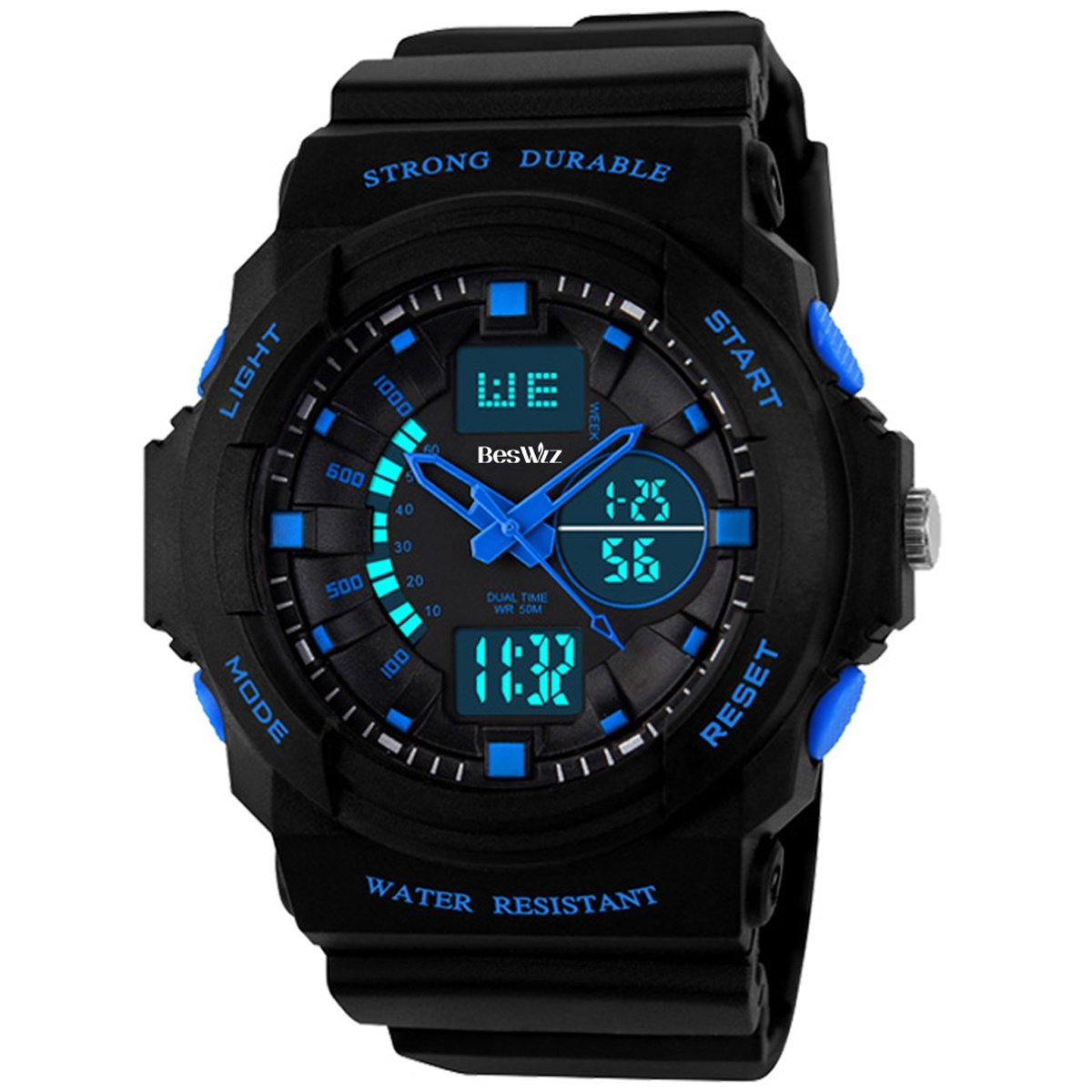 ids Sports Watches Multi Function Waterproof