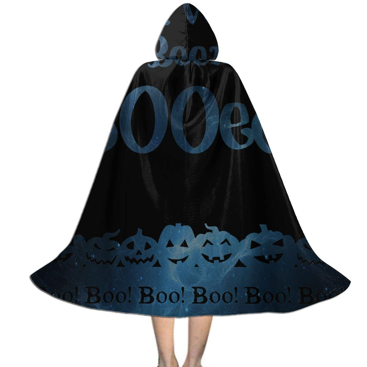 Kids Hooded Cloak Cape Halloween Party Cosplay Costumes Outwear