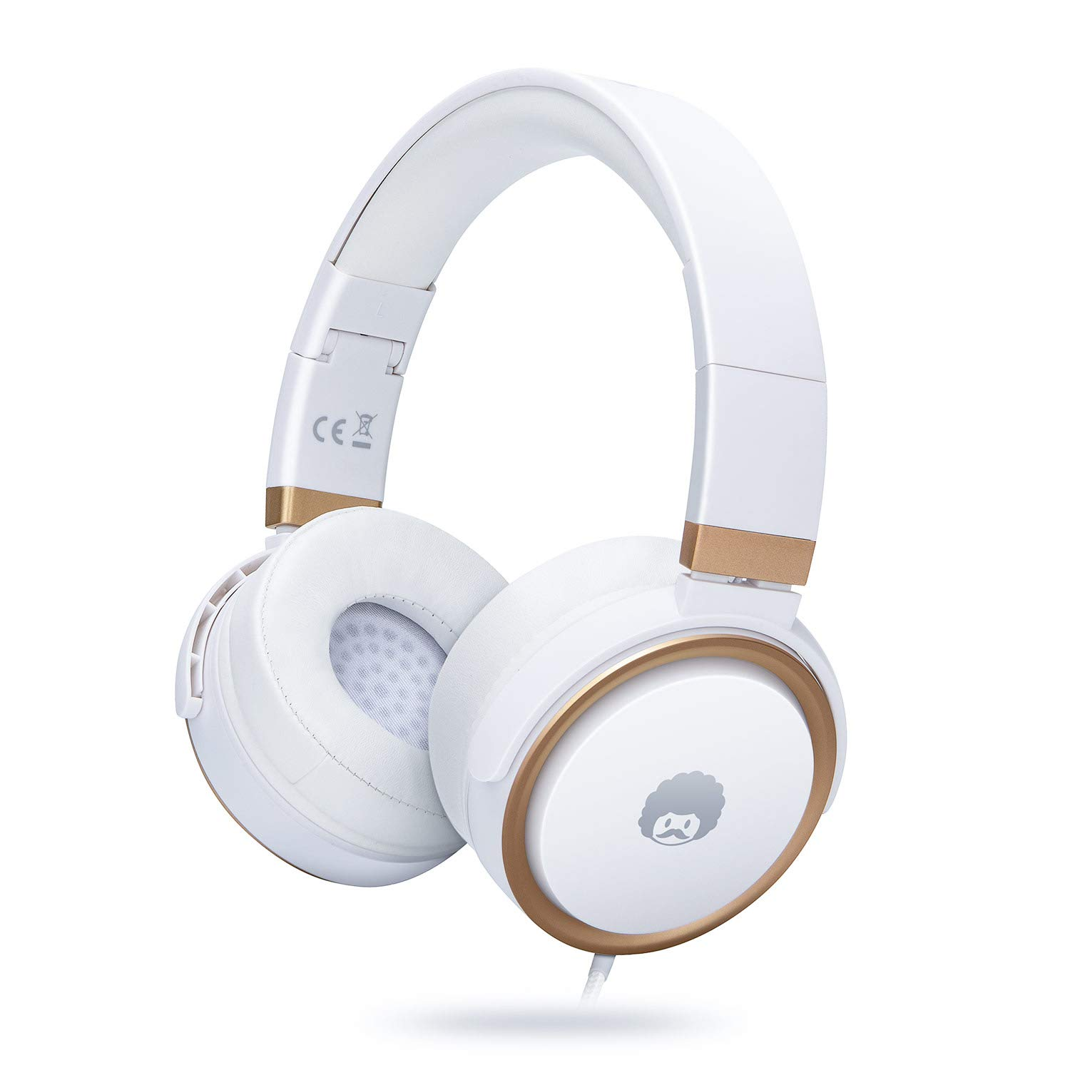 Wired Headphones with Microphone and Volume Control