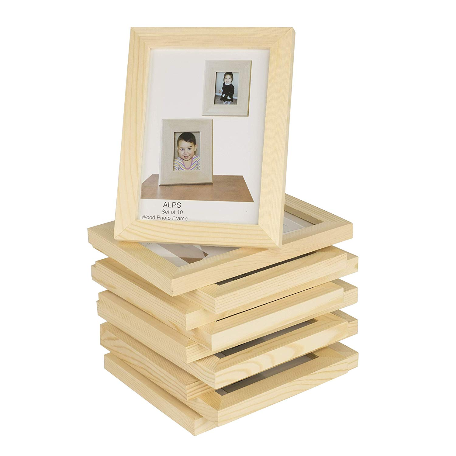Unfinished Solid Crafting Wooden Picture Frames