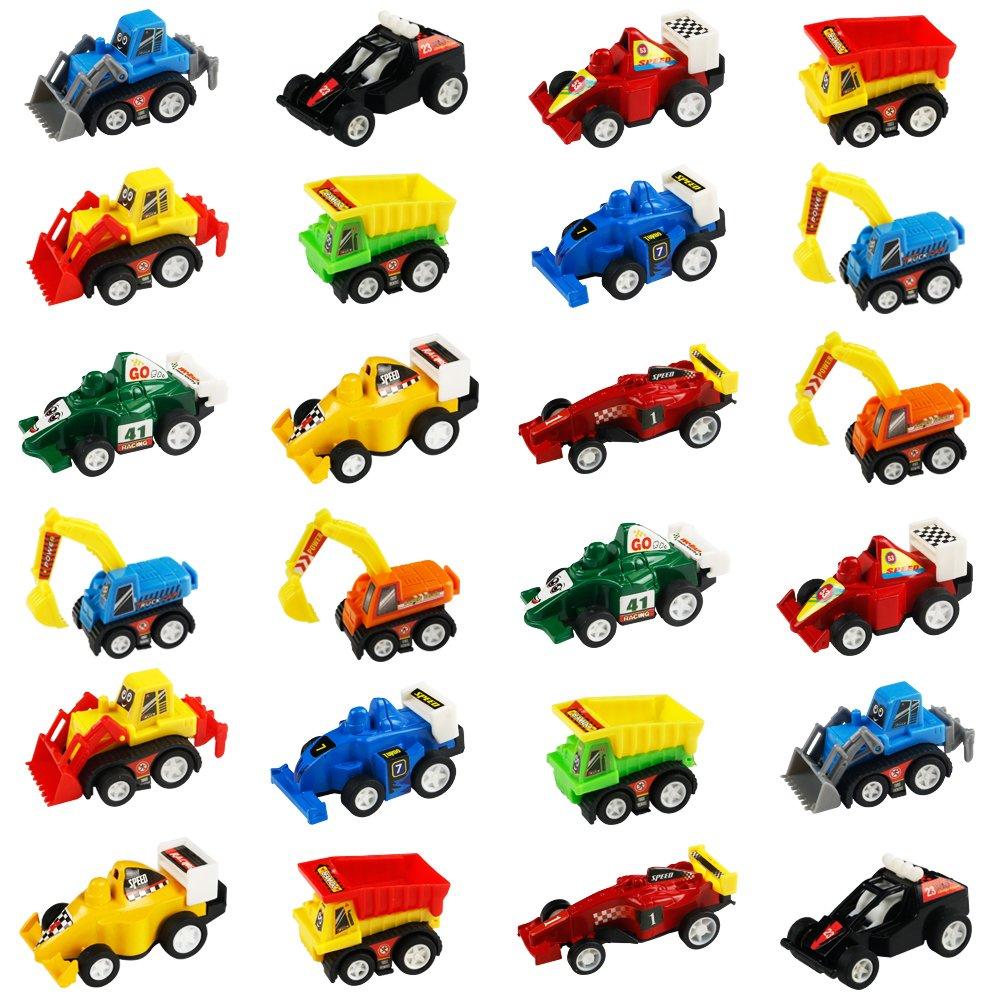 Back Vehicles Mini Toy Cars 24 Pack