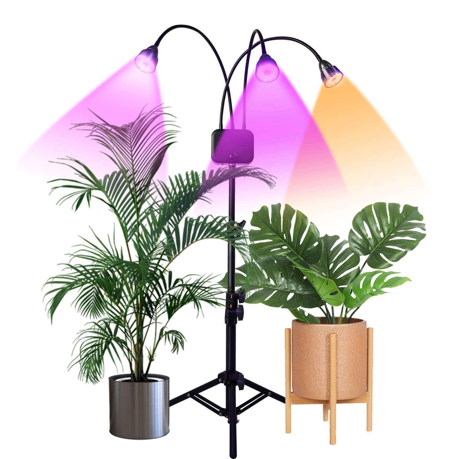 13th wedding anniversary gift ideas - Adjustable grow lamp for gardening lovers