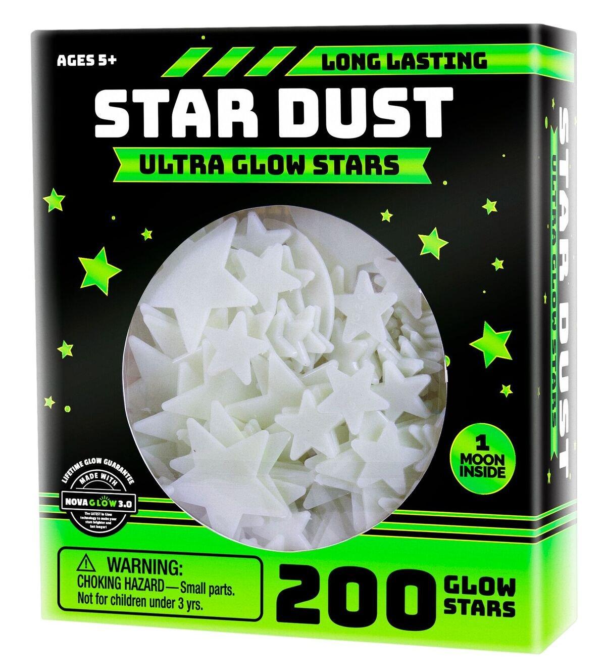 Ultra Brighter Glow in the Dark Stars