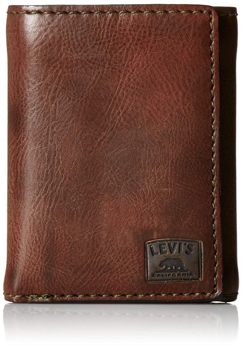 13th wedding anniversary gift ideas - Leather wallet for husband - Levi's Men's Trifold Wallet