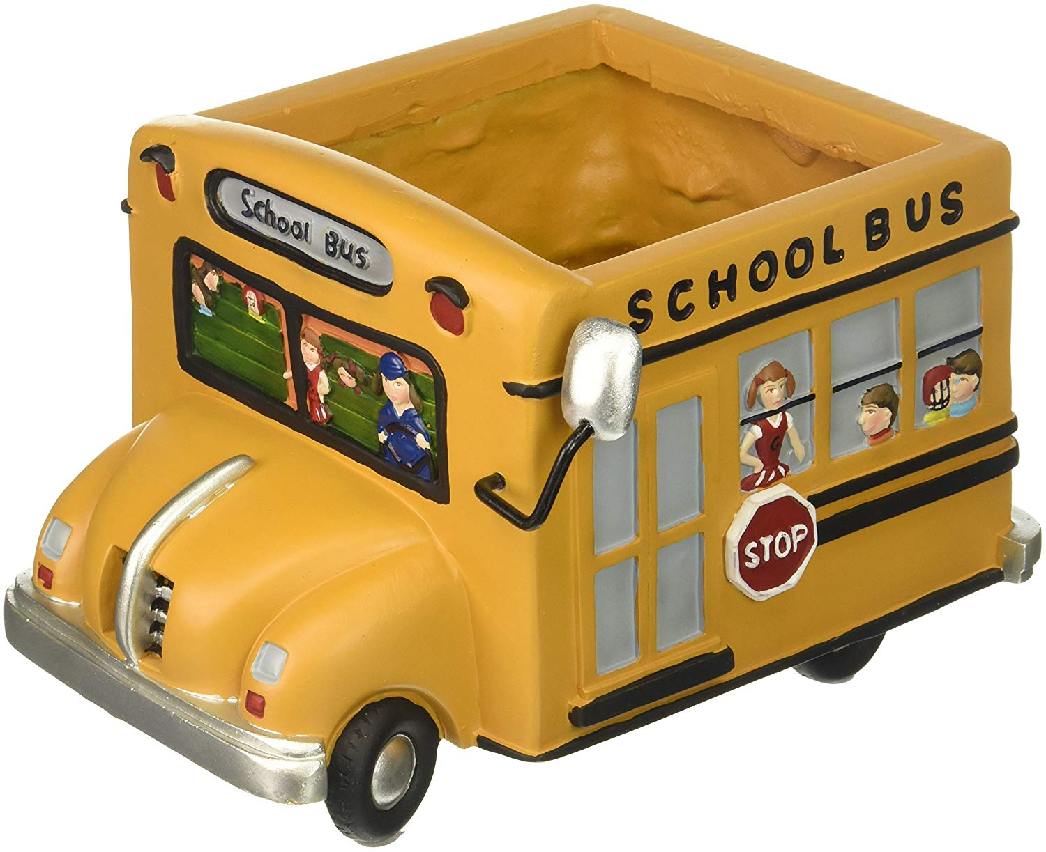 A school bus shaped planter - gifts for bus drivers