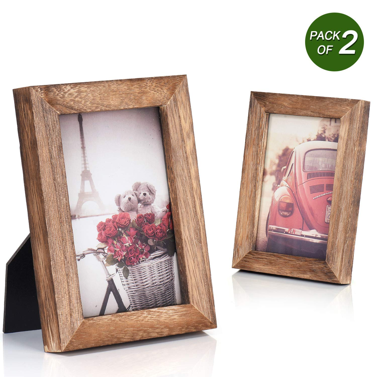 Picture Frame Photo Display for Tabletop