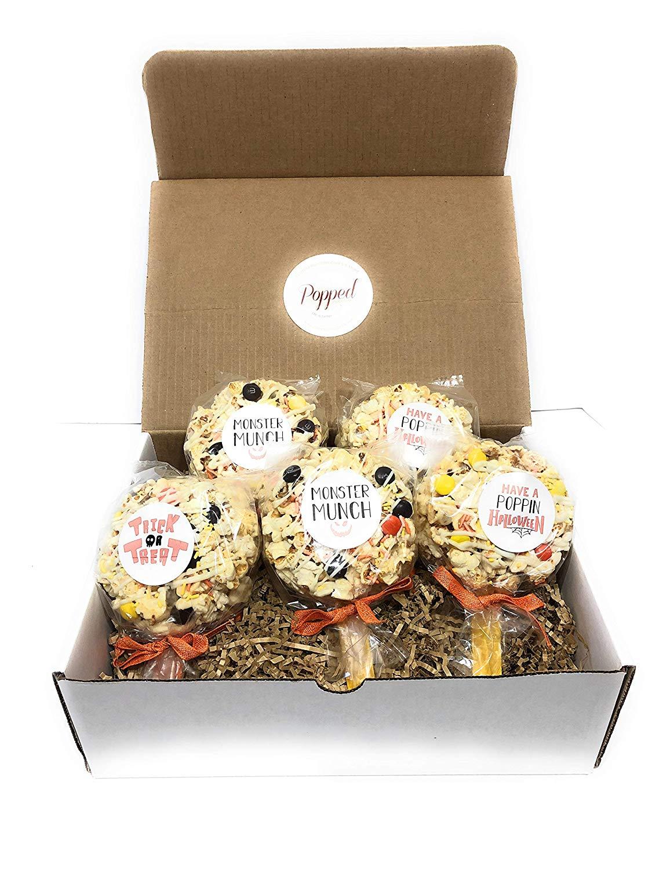 Halloween Popcorn Pops - popcorn gifts
